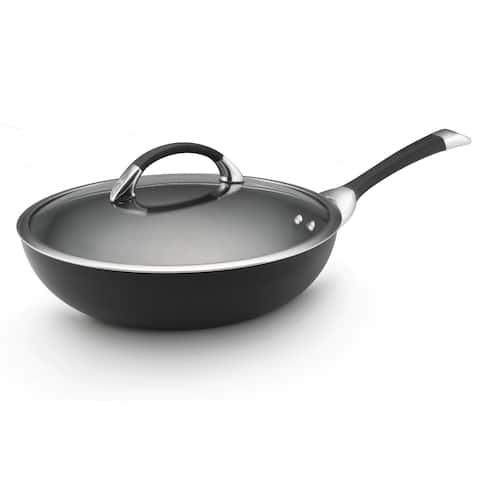 Circulon Symmetry Hard-anodized Nonstick 12-inch Covered Essential Pan