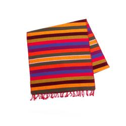 Agua Caliente Fiesta Striped Table Runner (Guatemala)