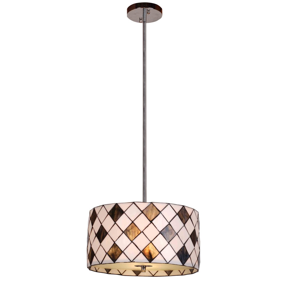 jeweled wide pendant tiffany p in lamp amora style hanging lighting lights light