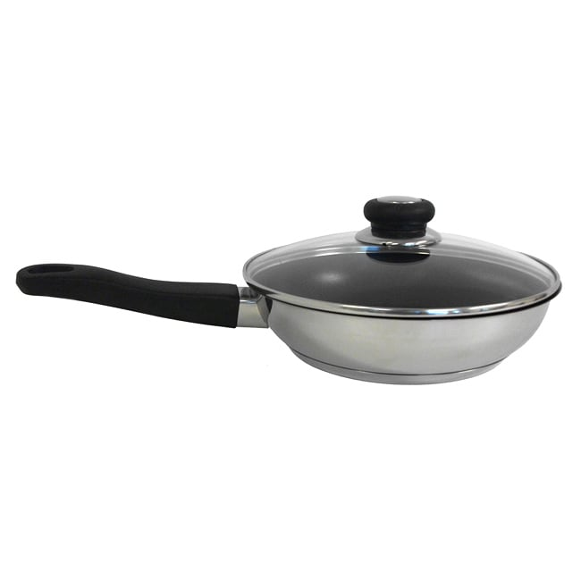 Excalibur Coating 10-inch Stainless Fry Pan