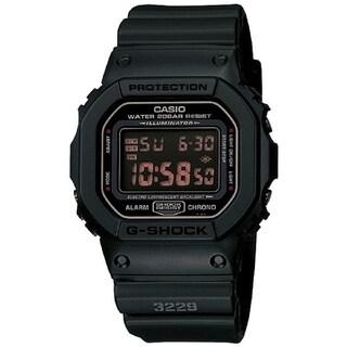 Casio Men's 'G-Shock' Matte Black Resin Strap Watch