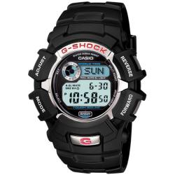 Casio Men's 'G-Shock' Black Resin Solar Power Watch
