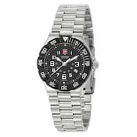 Victorinox Swiss Army Women's 'Summit XLT' Stainless Steel Black Dial Watch