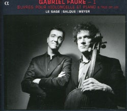 Francois Salque - Faure: Works for Cello and Piano
