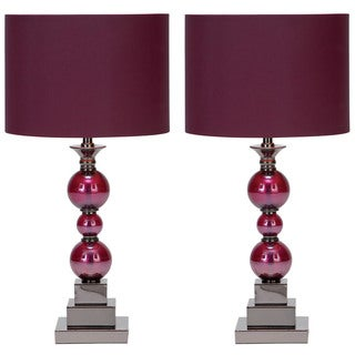 Loft Chic Table Lamps (Set of 2)
