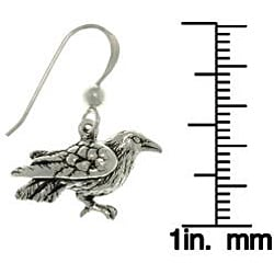 Carolina Glamour Collection Sterling Silver Bird Earrings