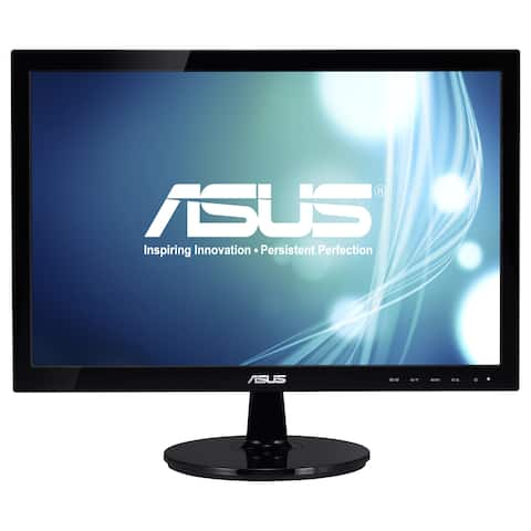 "Asus VS197D-P 18.5"" WXGA LED LCD Monitor - 16:9 - Black"