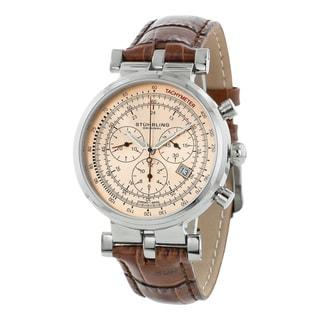 Stuhrling Original Men's Trackmaster Quartz Chronograph Watch