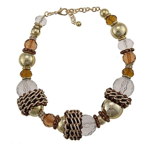 NEXTE Jewelry Goldtone Ball Fashion Necklace