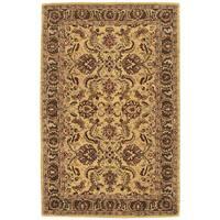 Nourison Hand-tufted Caspian Gold Wool Rug - 5' x 8'