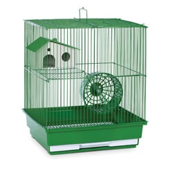Prevue Pet Products Green Metal Two-story Hamster/Gerbil Cage