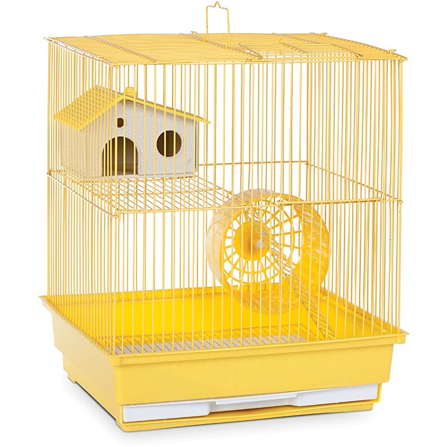 Prevue Pet Products Two Story Yellow Hamster/Gerbil Cage SP2010Y