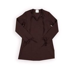 Azul Swimwear Girl's Brown Cotton Tunic Cover Up