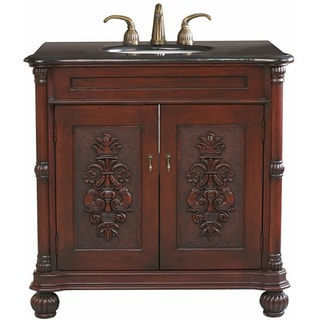Grande Cherry Bathroom Vanity