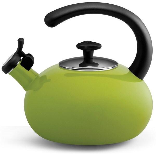 Rachael Ray 'Curve' Green 2-quart Tea Kettle