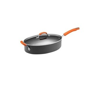 Rachael Ray II Hard-anodized Nonstick 5-quart Covered Oval Saute Pot