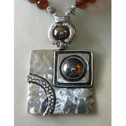 Picasso on the Rocks' Necklace and Earring Set - Thumbnail 1