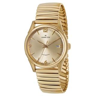 Hamilton Men's H38435221 Timeless Classic Thin-O-Matic Yellow Goldtone Watch