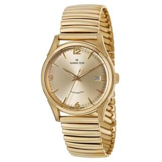 Hamilton Men's Timeless Classic Thin-O-Matic Yellow Goldtone Watch