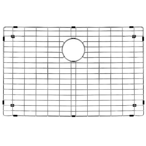 VIGO Chrome 27 1/2 x 16 5/8 inches Kitchen Sink Bottom Grid