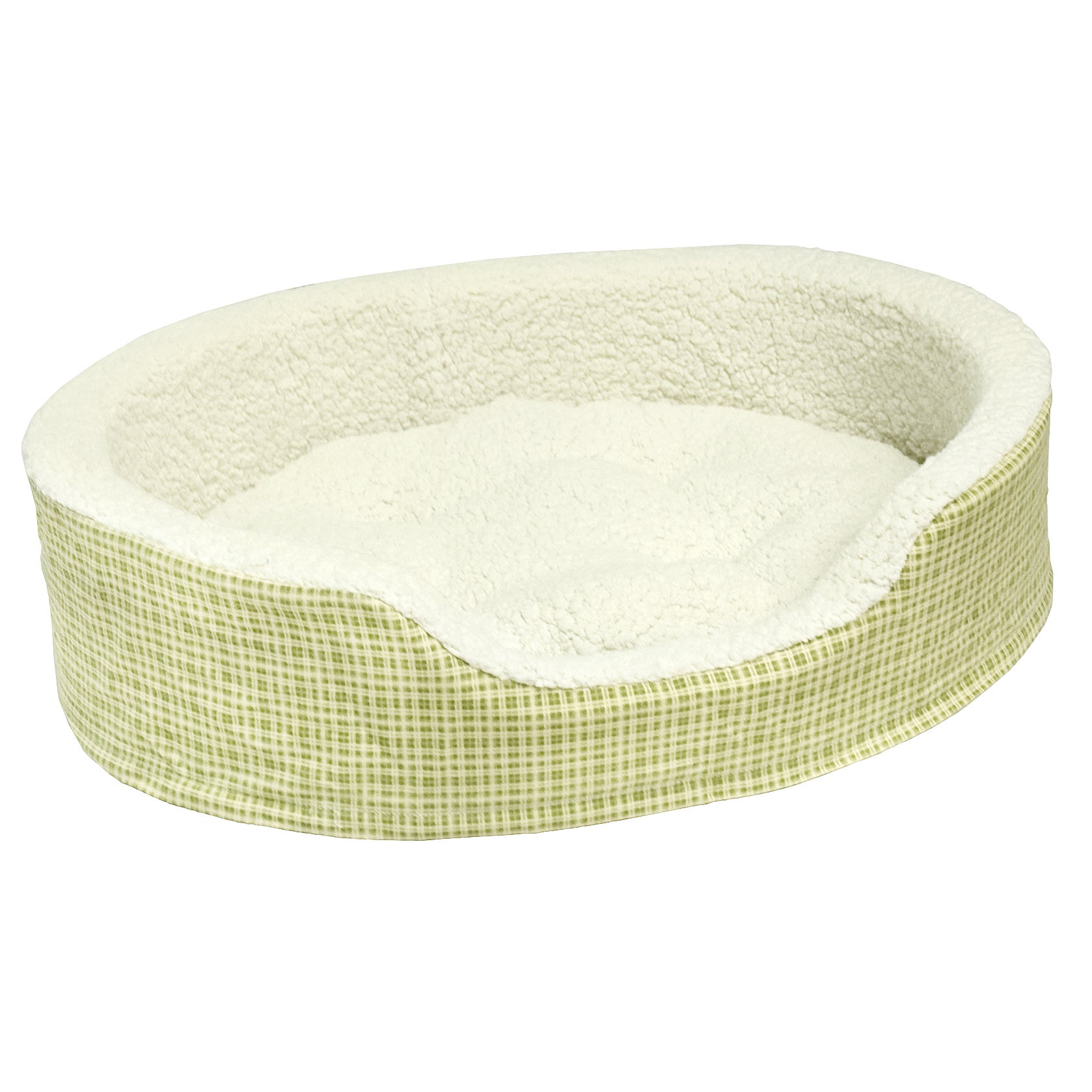 Ollie Foam Extra Small Reiss Plaid Dog Bed