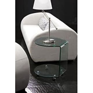 Kenora Bent Glass Side Table