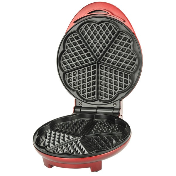 Kalorik Red Heart-shaped Waffle Maker