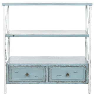 Safavieh Saffron Pale Blue Storage Console Table