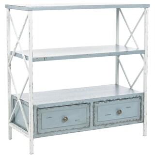Safavieh Saffron Pale Blue Storage Console Table