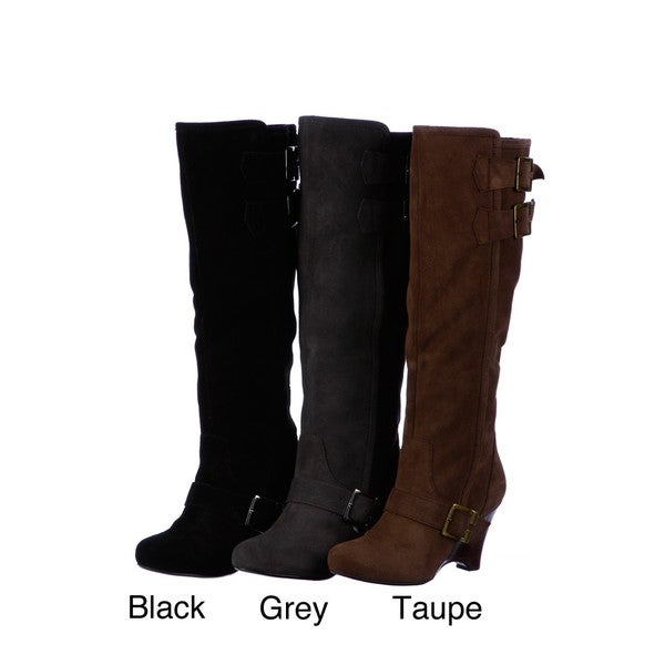 Naughty Monkey Women's 'Lots of Laughs' Wedge Boots FINAL SALE ...