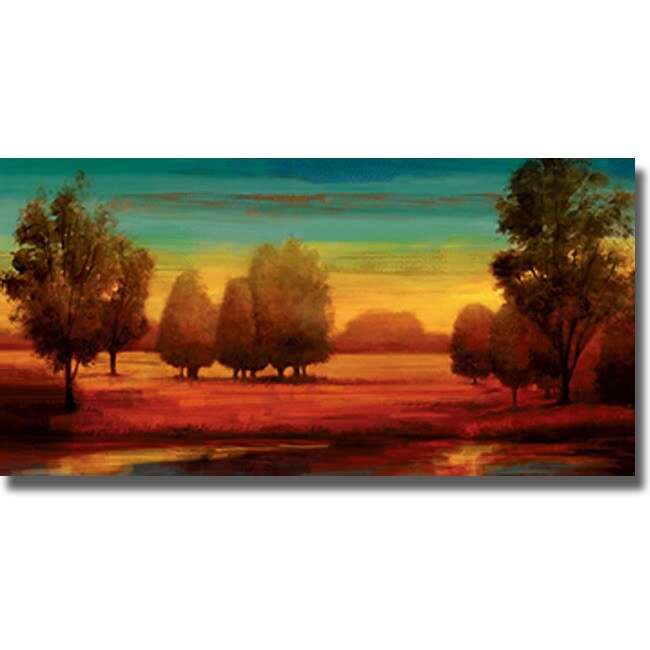 Neil Thomas 'Radiant' Canvas Art