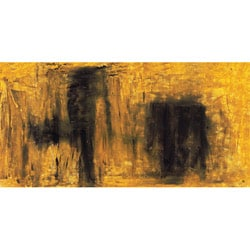Ankan 'Yellow & Black' Gallery-wrapped Canvas Art