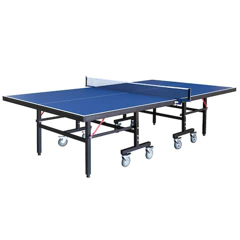 Back Stop 9-Foot Table Tennis Table