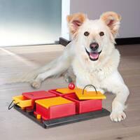 Trixie Poker Box Interactive Dog Toy Puzzle (Level 2)
