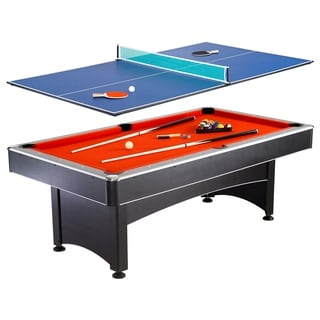 Hathaway Maverick 7-ft Pool Table w/ Table Tennis