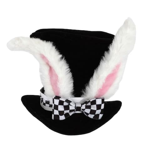 Elope Alice in Wonderland White Rabbit Hat Costume Topper