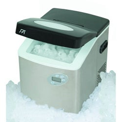 Portable Ice Maker with Stainless Steel Body