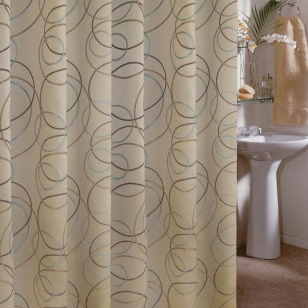 Shop Edmon Champagne Shower Curtain