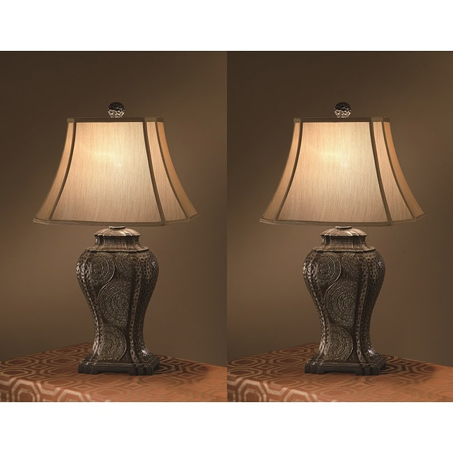 Tempura 30-inch 1-light Table Lamps (Set of 2)