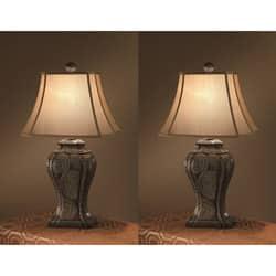 Tempura 30-inch 1-light Table Lamps (Set of 2)|https://ak1.ostkcdn.com/images/products/6263330/Tempura-30-inch-1-light-Table-Lamps-Set-of-2-P13900795.jpg?impolicy=medium