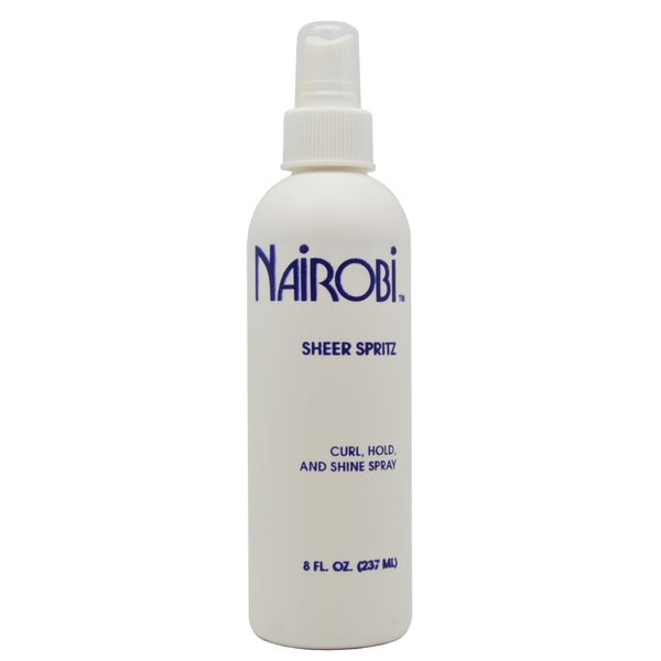 Nairobi Sheer Spritz Curl, Hold and Shine 8-ounce Hair Spray
