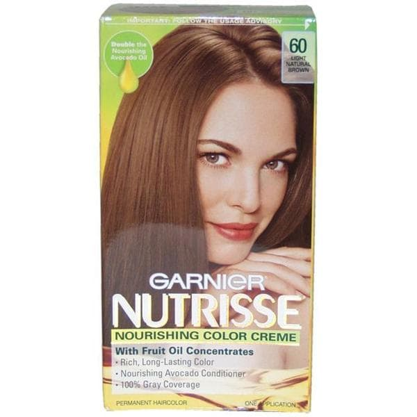 Garnier Nutrisse Nourishing Color Creme 60 Light Natural