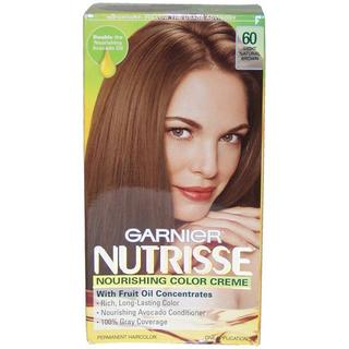 Garnier Nutrisse Nourishing Color Creme #60 Light Natural Brown Hair Color
