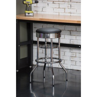 Trinity Chrome Swivel Bar Stool