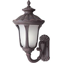 Woodbridge Lighting Westbrook 1-light Rust Small Outdoor Wall Light|https://ak1.ostkcdn.com/images/products/6265051/Woodbridge-Lighting-Westbrook-1-light-Rust-Small-Outdoor-Wall-Light-P13902188.jpg?impolicy=medium