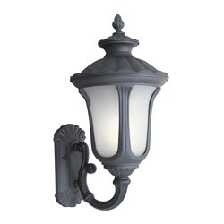 Woodbridge Lighting Westbrook 1-light Powdered Black Large Outdoor Wall Light|https://ak1.ostkcdn.com/images/products/6265105/Woodbridge-Lighting-Westbrook-1-light-Powdered-Black-Large-Outdoor-Wall-Light-P13902270.jpg?_ostk_perf_=percv&impolicy=medium