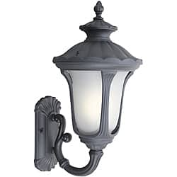 Woodbridge Lighting Westbrook 1-light Black Medium Outdoor Wall Light|https://ak1.ostkcdn.com/images/products/6265107/Woodbridge-Lighting-Westbrook-1-light-Black-Medium-Outdoor-Wall-Light-P13902187.jpg?impolicy=medium