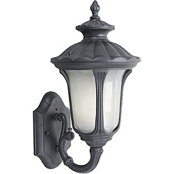 Woodbridge Lighting Westbrook 1-light Black Small Outdoor Wall Light