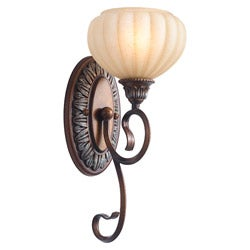 Woodbridge Lighting Liezel 1-light Copper Glow Bath Sconce