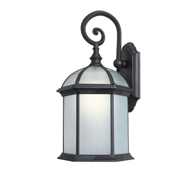 Shop Woodbridge Lighting 61032wl Bkp Glenwood 1 Light